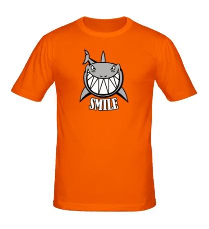 Мужская футболка Smile shark