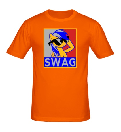 Мужская футболка Rainbow Dash Swag