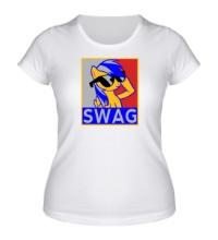 Женская футболка Rainbow Dash Swag