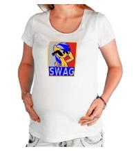 Футболка для беременной Rainbow Dash Swag