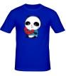 Мужская футболка «Панда ест арбуз» - Фото 1