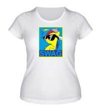 Женская футболка Rainbow Dash: SWAG Style
