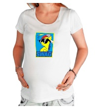 Футболка для беременной Rainbow Dash: SWAG Style