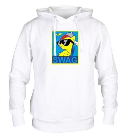 Толстовка с капюшоном Rainbow Dash: SWAG Style