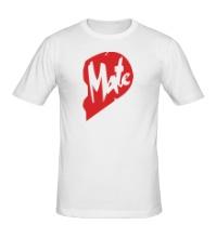 Мужская футболка Soul Mate, для нее