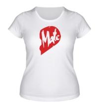 Женская футболка Soul Mate, для нее