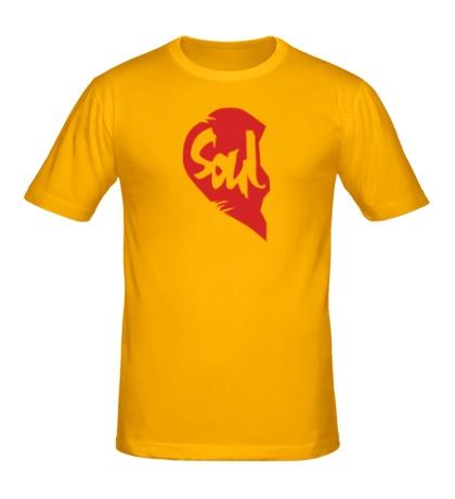 Мужская футболка Soul Mate, для него