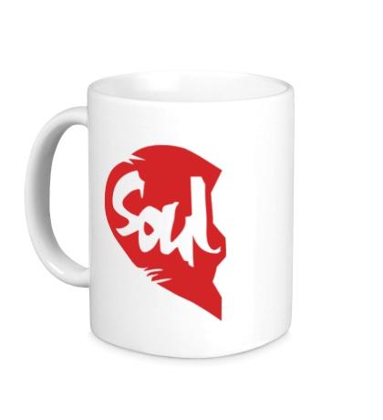 Керамическая кружка «Soul Mate, для него»