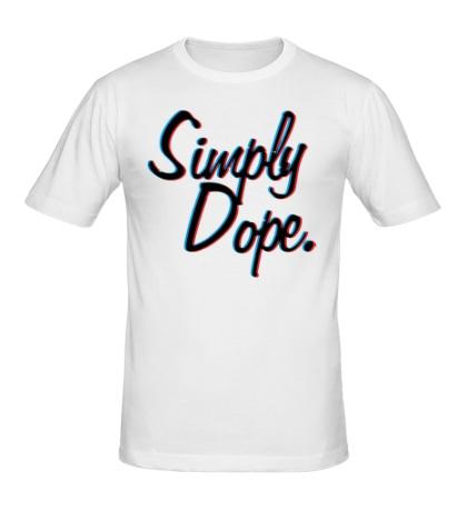 Мужская футболка Simply Dope