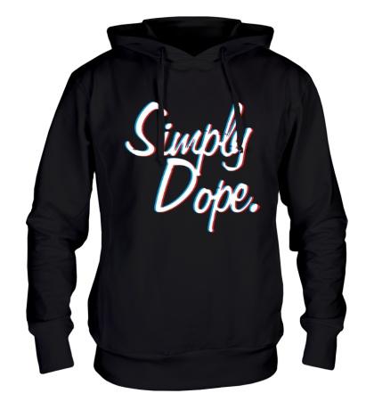 Толстовка с капюшоном Simply Dope