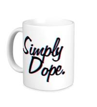 Керамическая кружка Simply Dope