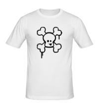 Мужская футболка Веселый череп