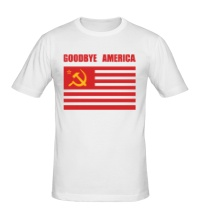Мужская футболка Goodbye America
