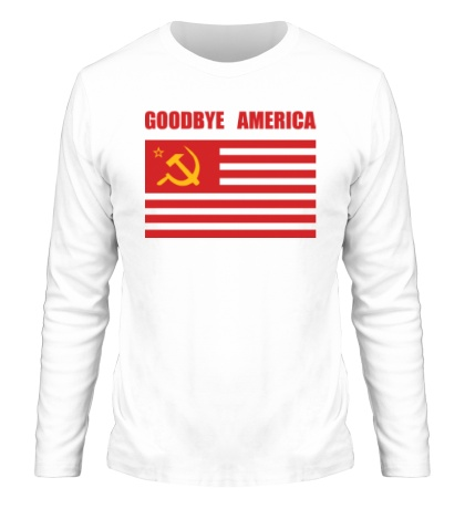 Мужской лонгслив «Goodbye America»