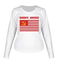 Женский лонгслив Goodbye America