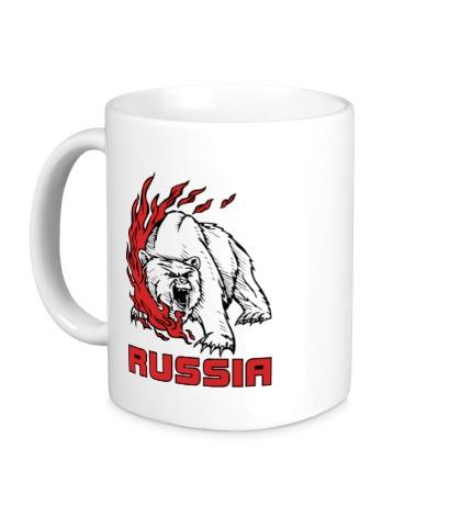 Керамическая кружка Fire Russia