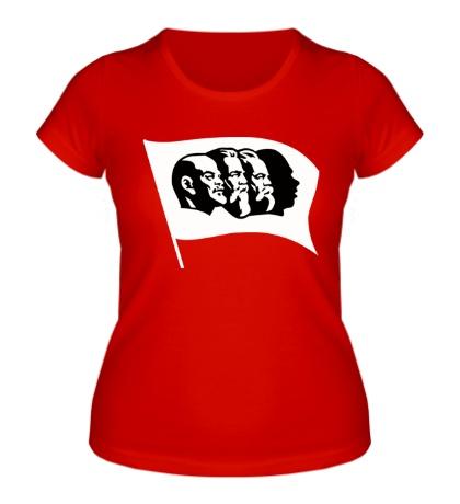 Женская футболка Красные вожди