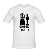 Мужская футболка Marry: Game over