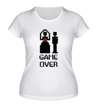 Женская футболка Marry: Game over