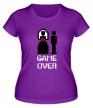 Женская футболка «Marry: Game over» - Фото 1