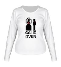 Женский лонгслив Marry: Game over