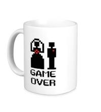 Керамическая кружка Marry: Game over