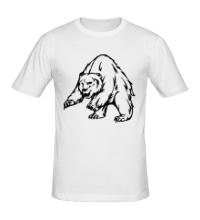 Мужская футболка Ярый медведь