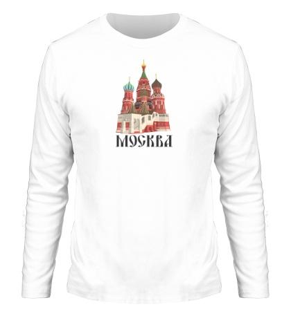 Мужской лонгслив «Москва»