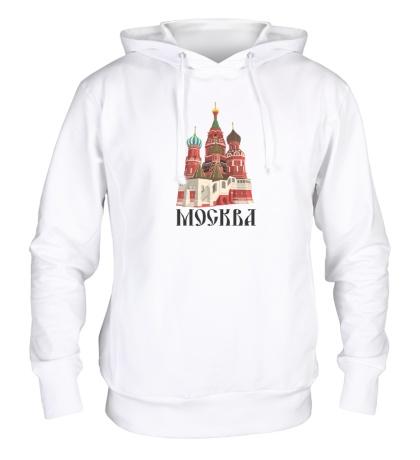 Толстовка с капюшоном Москва