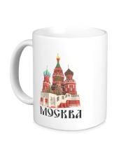 Керамическая кружка Москва