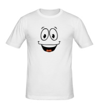 Мужская футболка Радостный смайлик