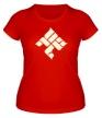 Женская футболка «ОУ74 Tankograd Underground Glow» - Фото 1