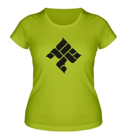 Женская футболка ОУ74 Tankograd Underground