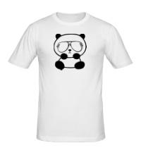 Мужская футболка Стильная панда