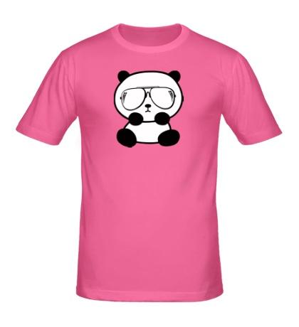 Мужская футболка «Стильная панда»
