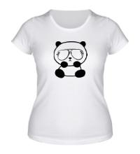 Женская футболка Стильная панда