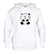 Толстовка с капюшоном Стильная панда