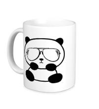 Керамическая кружка Стильная панда