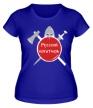 Женская футболка «Русский воин-богатырь» - Фото 1