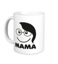 Керамическая кружка Мама