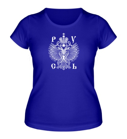 Женская футболка Царская Русь