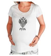 Футболка для беременной Герб Руси