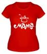 Женская футболка «Мама повар» - Фото 1