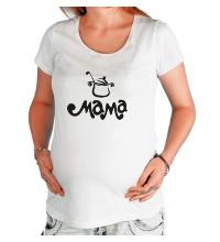 Футболка для беременной Мама повар