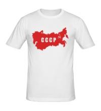 Мужская футболка Территория СССР