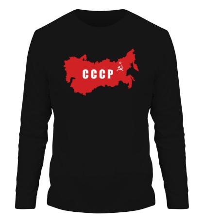 Мужской лонгслив Территория СССР