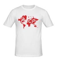 Мужская футболка Весь мир СССР