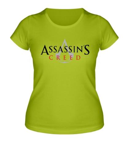 Женская футболка Assassins Creed