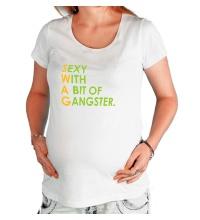 Футболка для беременной Swag Sexy Gangster