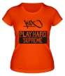 Женская футболка «Party Hard Supreme» - Фото 1
